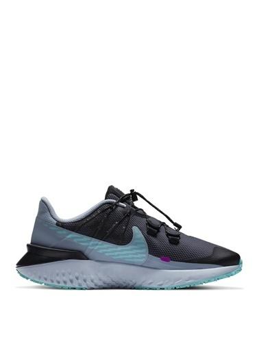 Nike Nike Legend React 3 Shield Kadın Koşu Ayakkabısı Gri